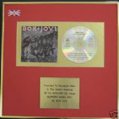 BON JOVI - CD Album Award -  SLIPPERY WHEN WET